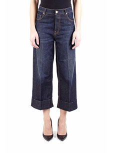 PINKO TROUSERS BLUE