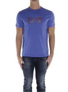 EA7 T-SHIRT BLUETTE